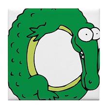 Alligator O Tile Coaster