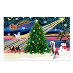 XmasMagic/Crested (#4) Postcards (Package of 8)