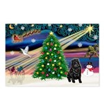 XmasMagic/ Shar Pei Postcards (Package of 8)