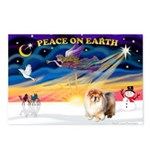 XmasSunrise/Chow Postcards (Package of 8)