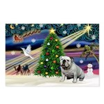 Xmas Magic & Bulldog Postcards (Package of 8)