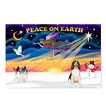 XmasSunrise/Eng Springer Postcards (Package of 8)