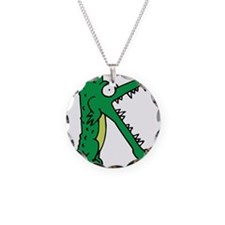 Alligator K Necklace