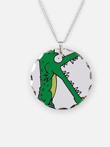 Alligator K Necklace