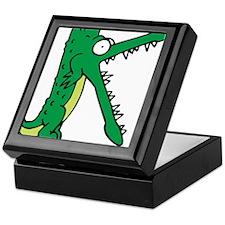 Alligator K Keepsake Box