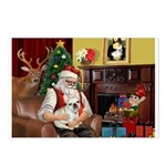 Santa's French BD (1) Postcards (Package of 8)