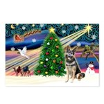 XmasMagic/ SchipperkGerman S Postcards (Package of