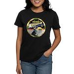 XmasDove/ German Shepherd Women's Dark T-Shirt
