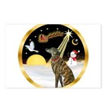 Night Flight/Greyhound (brin) Postcards (Package o