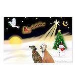 NIGHT FLIGHT<br>& 2 Greyhound Postcards
