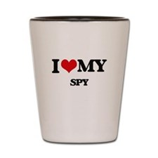 I love my Spy Shot Glass