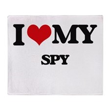 I love my Spy Throw Blanket