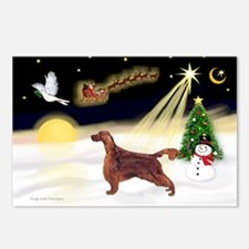 Night Flight/Irish Setter Postcards (Package of 8)