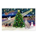 XmasMagic/Ital.Greyt1 Postcards (Package of 8)