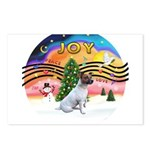 XMusic2-JackRussell Postcards (Package of 8)