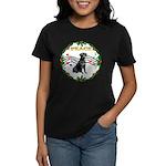 XmasMusic1MC/ Lab Women's Dark T-Shirt