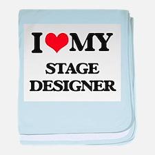 I love my Stage Designer baby blanket