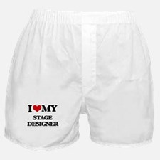 I love my Stage Designer Boxer Shorts