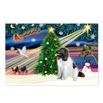 Xmas Magic & Newfie Postcards (Package of 8)