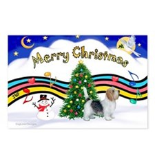 XmasMusic1/PBGV #9 Postcards (Package of 8)
