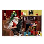 Santa's PWD Postcards (Package of 8)