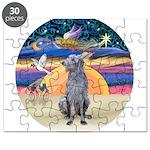 R-XmasStar-ScottishDeerhound Puzzle