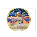XmasStar/Shih Tzu Postcards (Package of 8)
