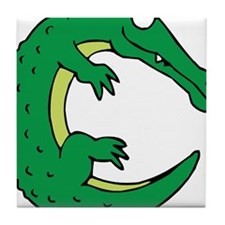 Alligator C Tile Coaster
