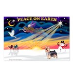 XmasSunrise/ Silky T Postcards (Package of 8)