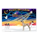 XmasSunrise/Sloughi Postcards (Package of 8)