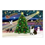 XmasMagic/Corgi (5C) Postcards (Package of 8)