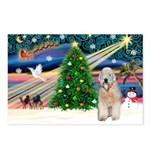 XmasMagic/Wheaten (#5) Postcards (Package of 8)