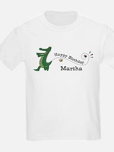 Happy Birthday Martha (gator) T-Shirt