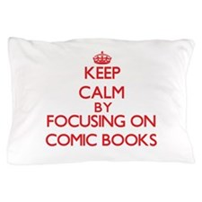 Comic Books Pillow Case