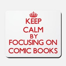 Comic Books Mousepad