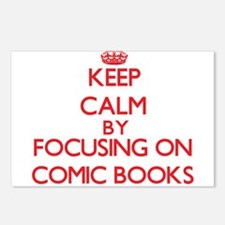 Comic Books Postcards (Package of 8)