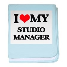 I love my Studio Manager baby blanket