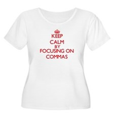Commas Plus Size T-Shirt