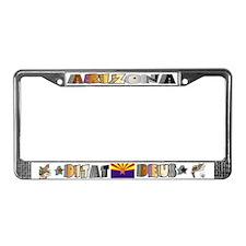Le Bear Arizona 1 - License Plate Frame