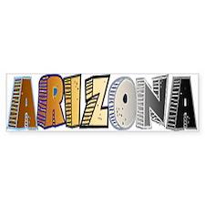 Le Bear Arizona 1 - Bumper Bumper Sticker