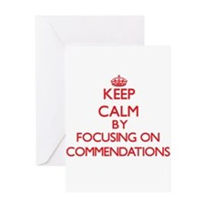 Commendations Greeting Cards