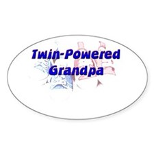 Grandpa Oval Decal