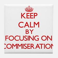 Commiseration Tile Coaster