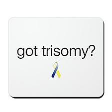 Got Trisomy? w/ DS Ribbon Mousepad