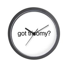 Got Trisomy? Wall Clock