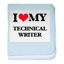 I love my Technical Writer baby blanket