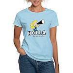 Holla Back Women's Light T-Shirt