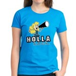 Holla Back Women's Dark T-Shirt