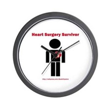 Heart Surgery Surviver Wall Clock