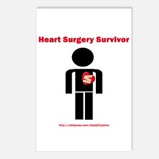 Heart Surgery Surviver Postcards (Package of 8)